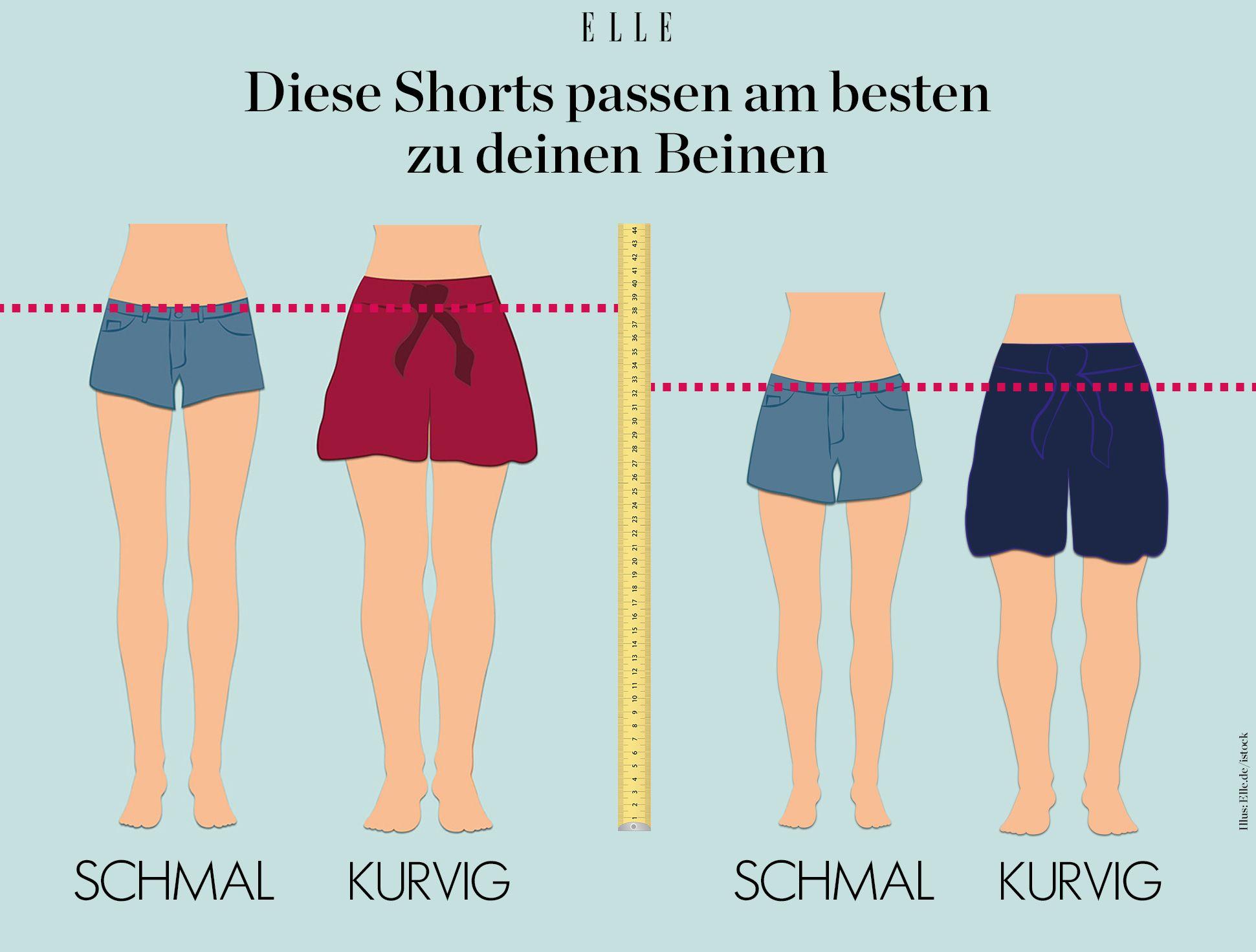 Kurze Dickes Shorts Mädchen Mädchen