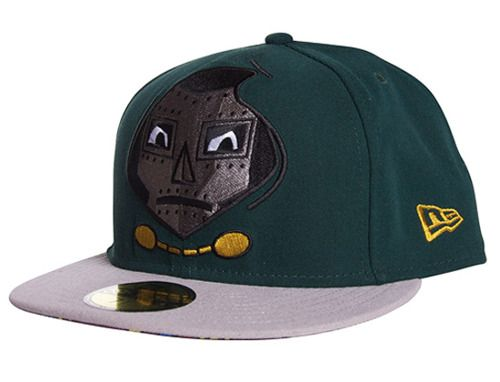3aafbf99b38 MF Doom Fitted Caps