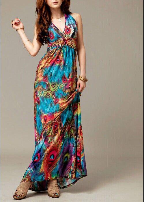 9bed24b8b vestidos de verano largos para gorditas - Buscar con Google ...