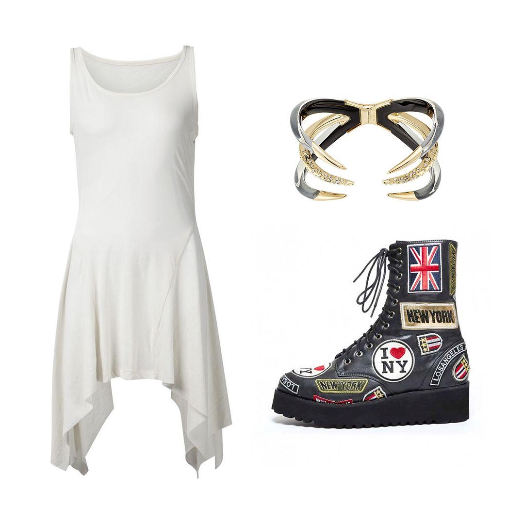 Punk-Chic #kultlike #jeffreycampbell #alternative #fashion