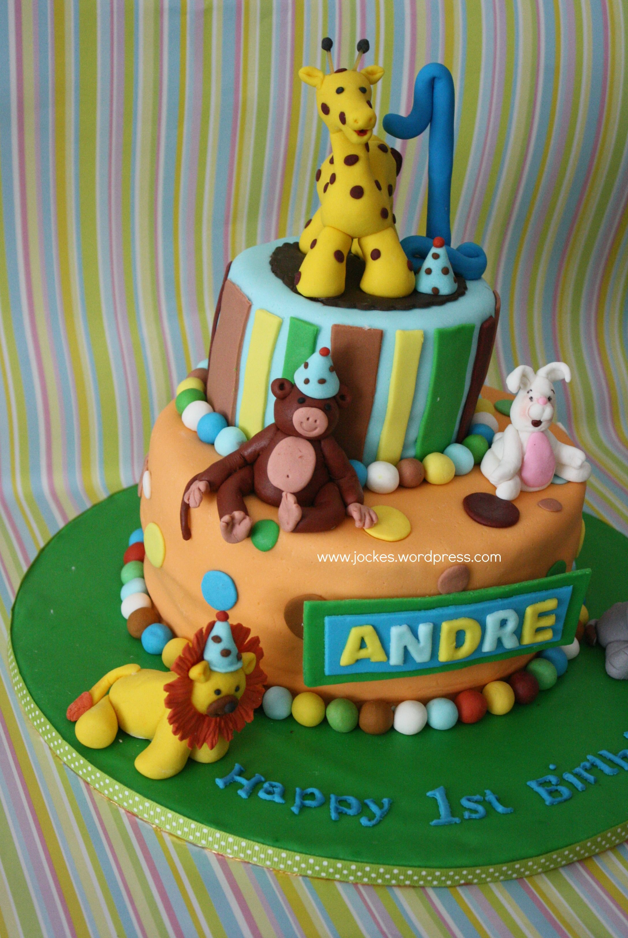 Fantastic Cake For One Year Old Boy The Cake Boutique Funny Birthday Cards Online Inifodamsfinfo