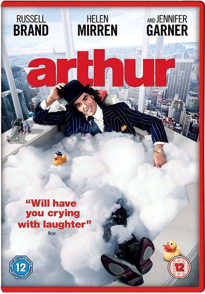Arthur [DVD] [2011] Russell brand, Movies to watch