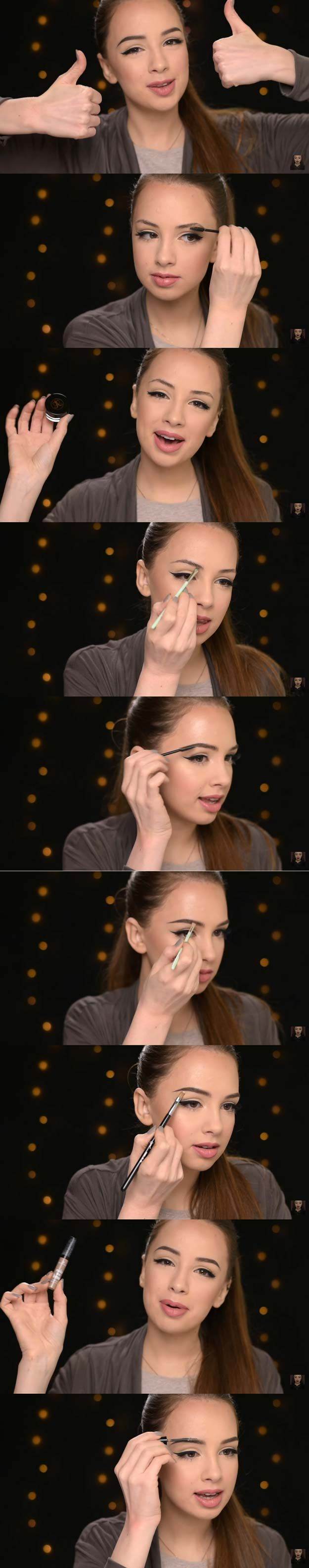 31 MUST SEE Eyebrow Tutorials - The Goddess
