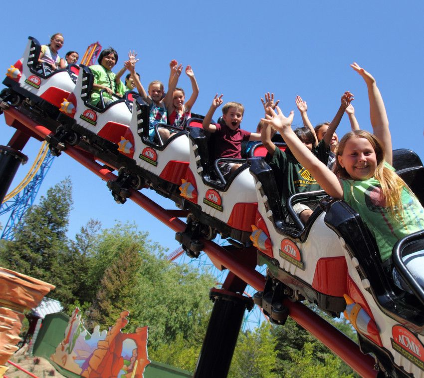 Six Flags Official Home Page Six Flags Theme Park Roller Coaster