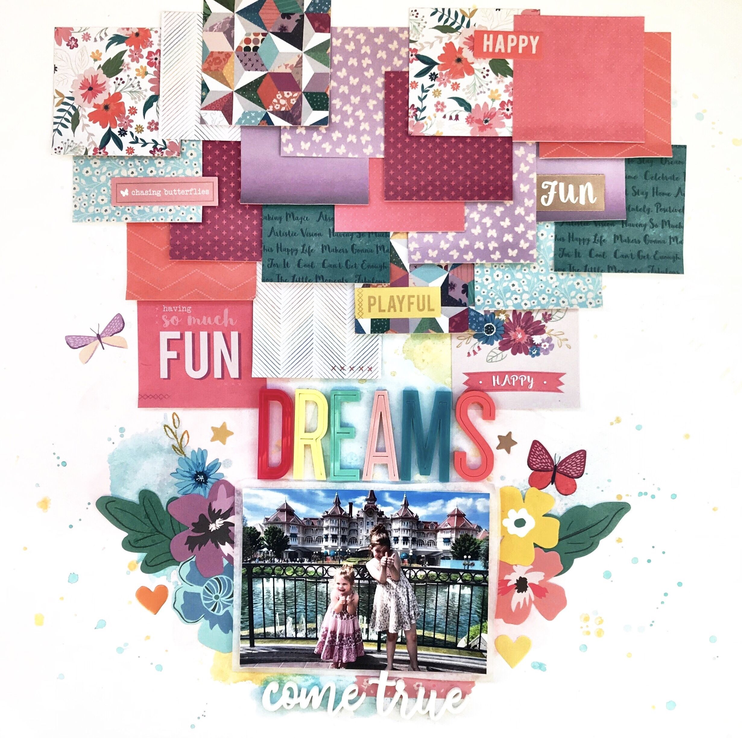 Dreams Come True Scrapbook Com My Scrapbook Happy Fun Mini Books