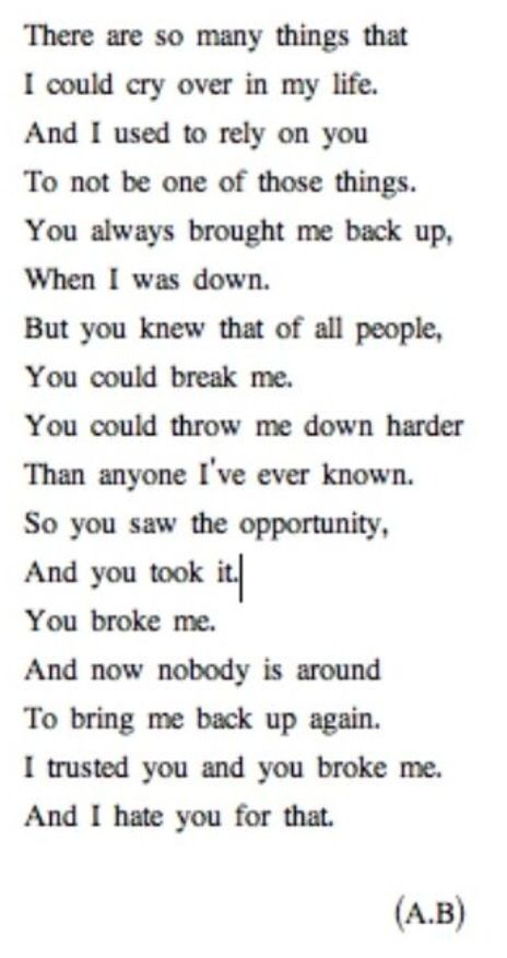 Pin By Courtney Roscoe On Toxic Love Pinterest Quotes You Broke Best Toxic Love Quotes