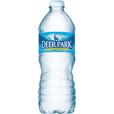 Deer Park 100 Natural Spring Water 16 9 Ounce Plastic Bottle 24 Case At Staples Mountain Spring Water Natural Spring Water Spring Water