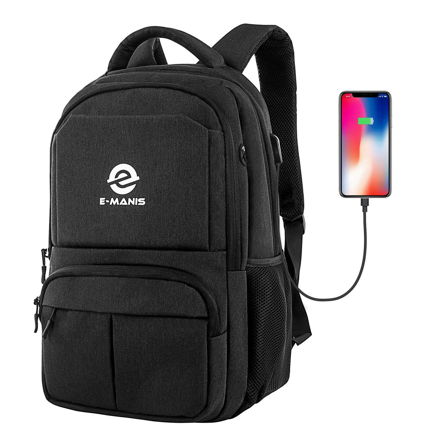 """EDLUX Business Anti Theft Slim Durable Travel Laptop Notebook Backpack Fit 15.6/"""""""