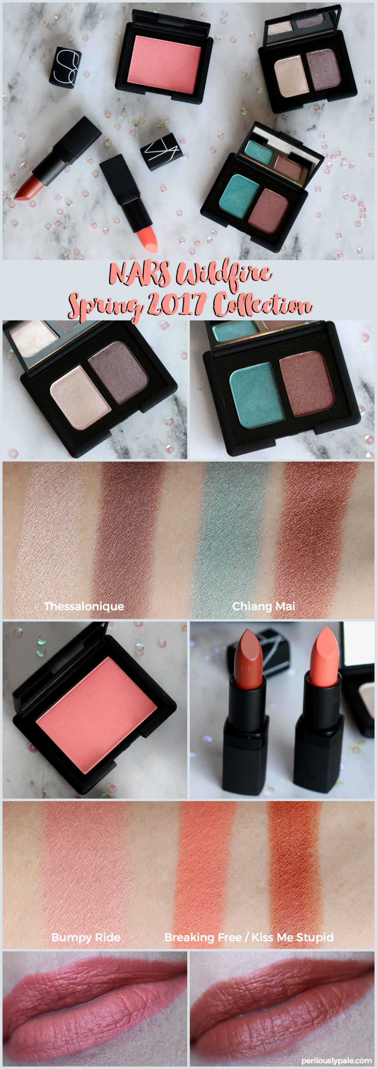 NARS Spring 2017 Wildfire Collection Review | Spring, (2017) and ...