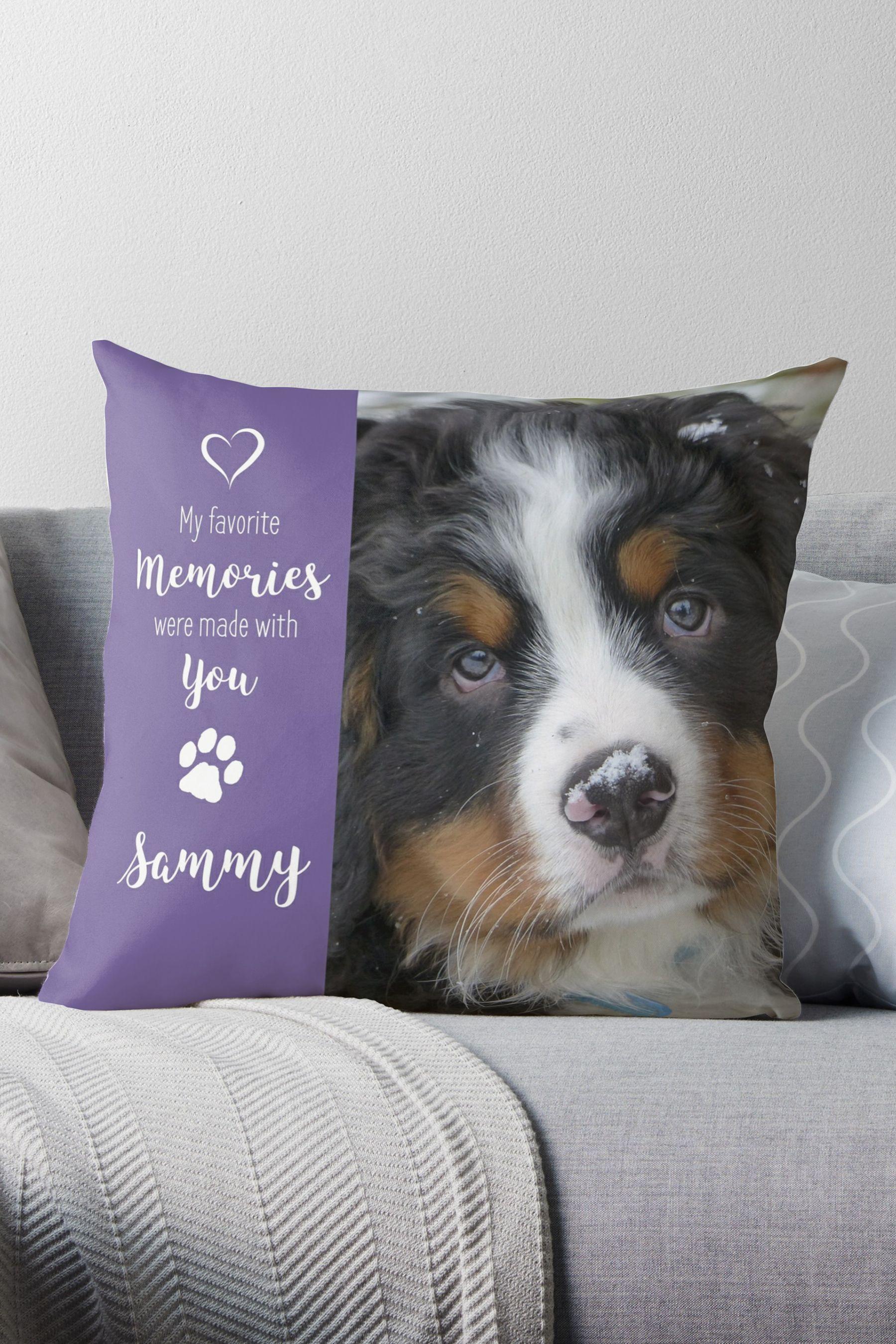 Pet Photo Pillow 14HGSPP Pet Memorial Dog Photo Pillow