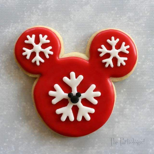 Mickey Minnie Mouse Christmas Cookies Christmas Pinterest