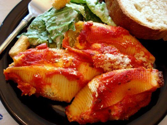 Cheese Stuffed Shells Recipe - Food.com