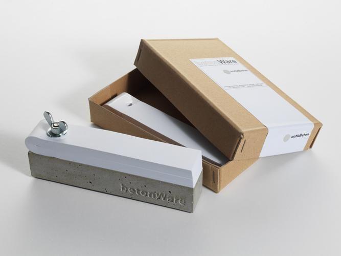 betonware, notizBeton, Notizblock, Tisch, Schreiben, beton, Notiz - küchenarbeitsplatte aus beton