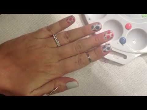 Easy Nail Art Tutorial Dotting Tool Flowers Simple And Fun
