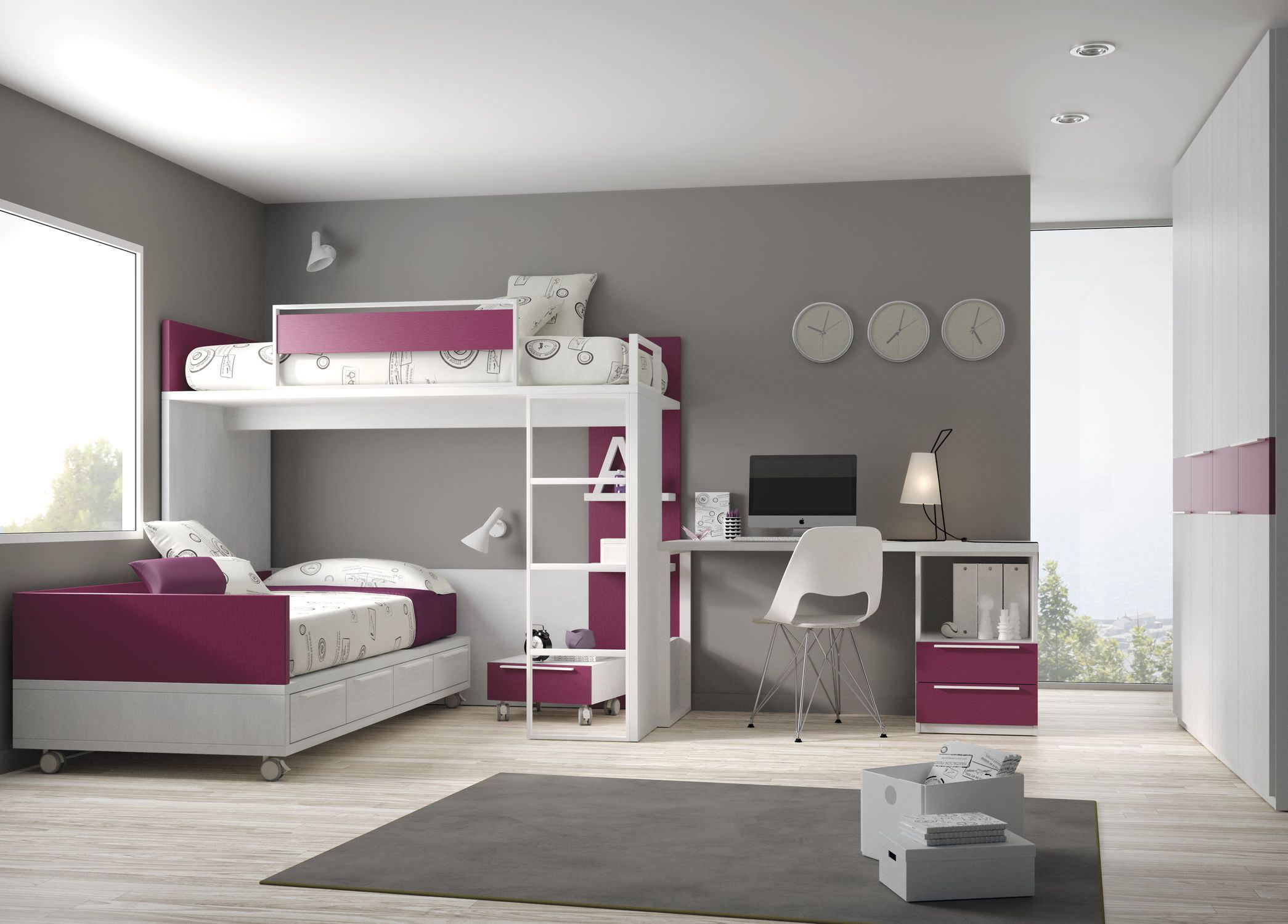 Lits Superposes Escamotables Chambre Lit Superposé Angle Google Search House Ideas
