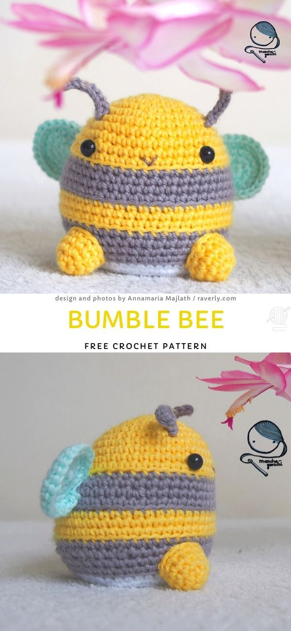 Photo of Bumble Bee Free Crochet Pattern