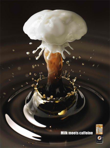 adv / K-Fee - Milk meets Caffeine
