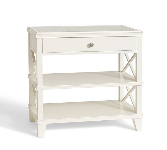 Clara Lattice Wide Bedside Table For Guest Bedroom Pictures Gallery