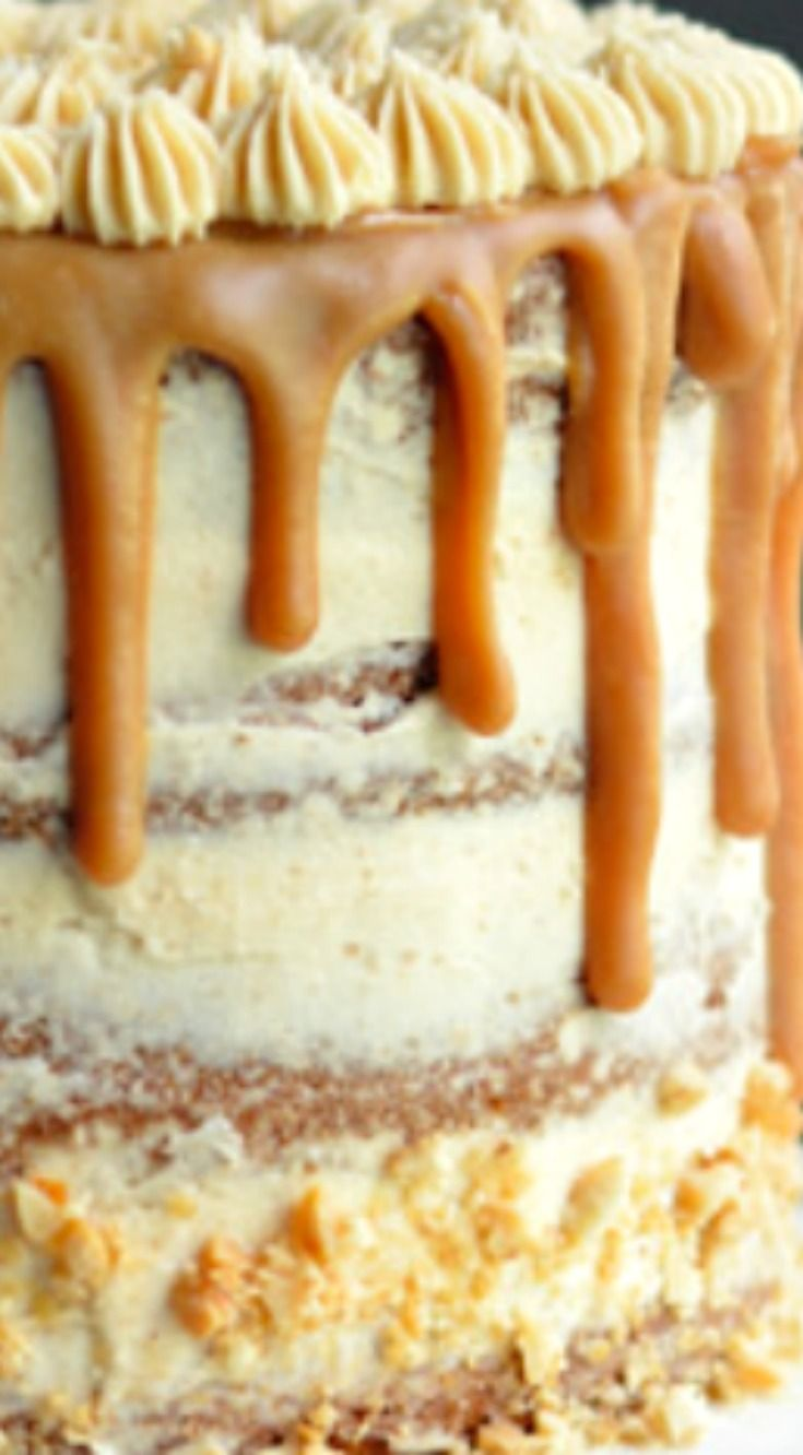 The Ultimate Peanut Butter Lover's Cake
