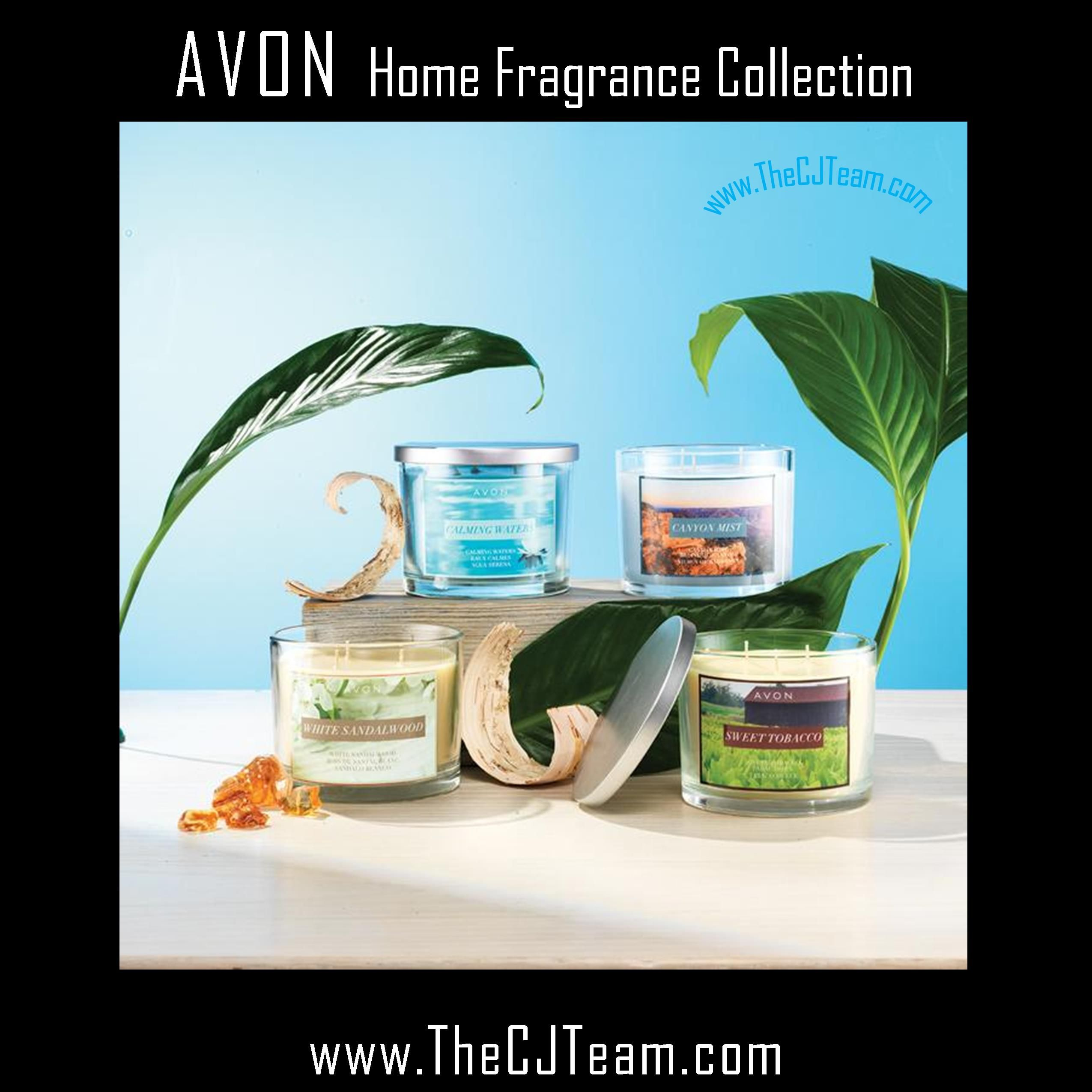 🌺Brighten your home with crisp, clean scents with Avon 3-wick candles. Available in a variety of yummy flavors. #C5