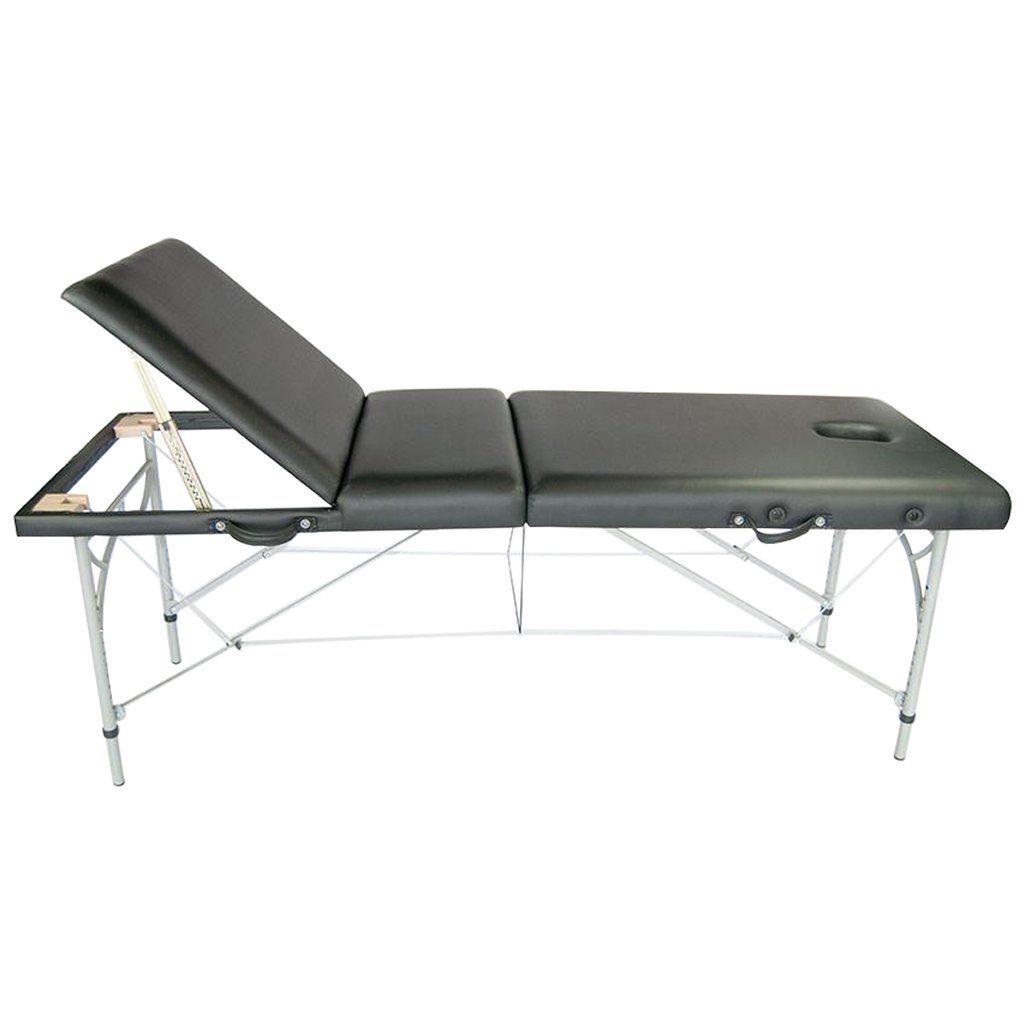 Lightweight Portable Massage Table W Adjustable Backrest