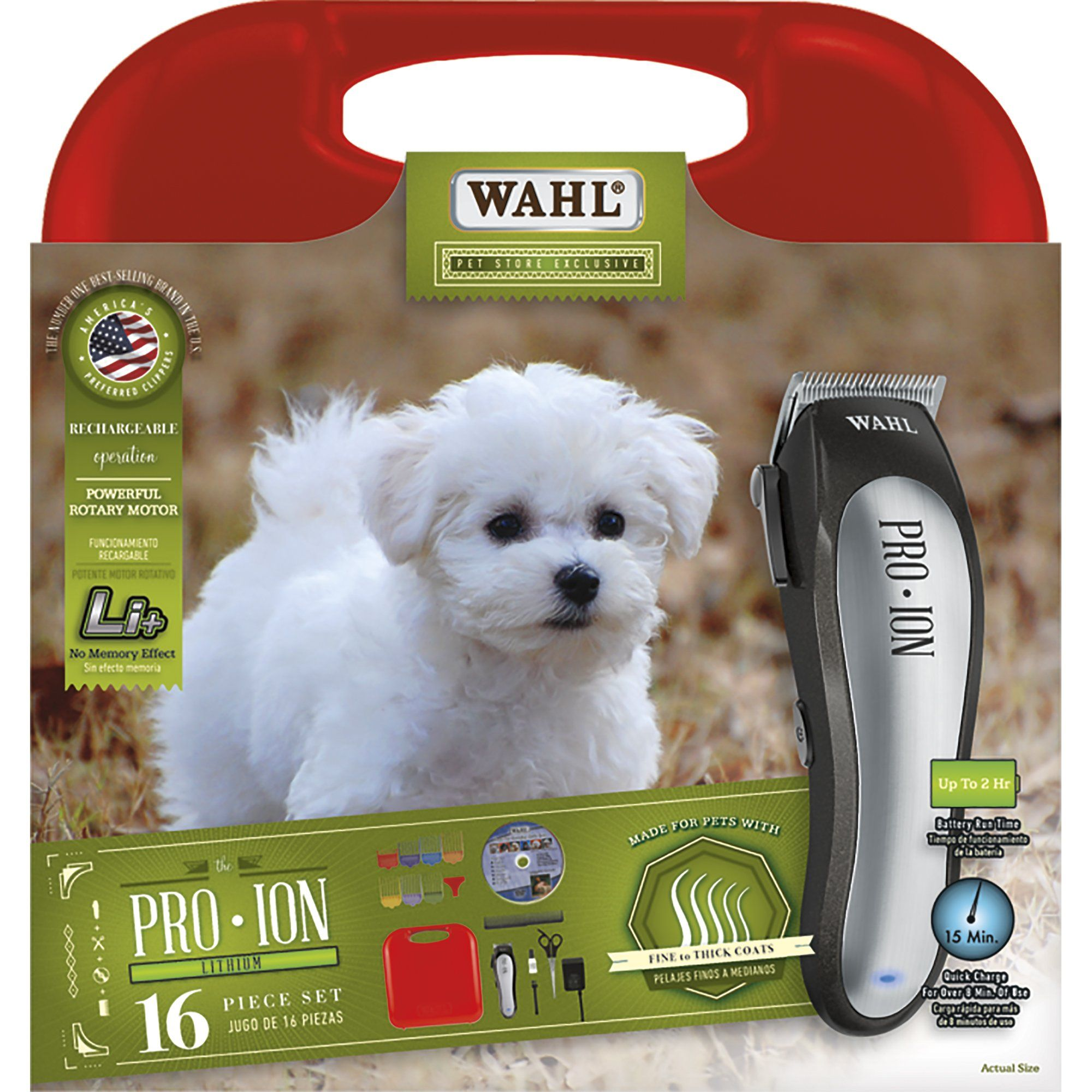 Wahl Pro Ion Rechargeable Pet Clipper Kit Products In 2019 Dog