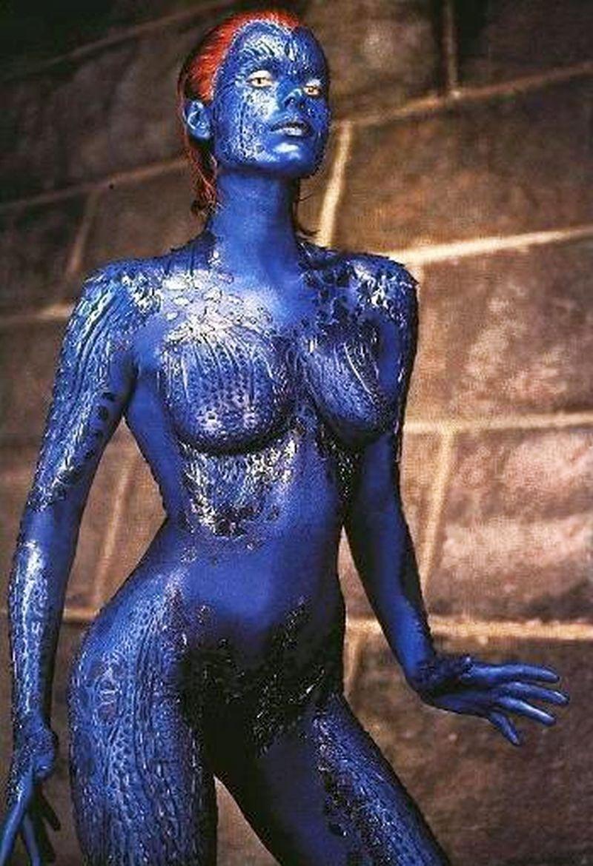 Mystique Rebecca Romijn Stamos X Men 2000 Rebecca Romijn X Men Mystique