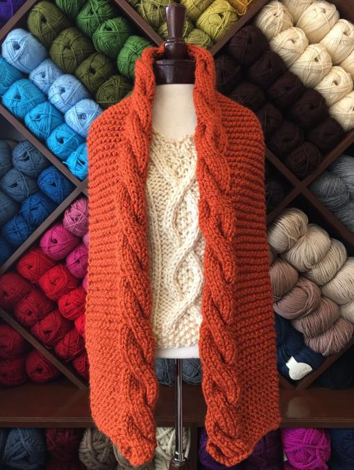 PATRON - BUFANDA FRIDA SC LV - Estambres Crochet | Tricotar ...