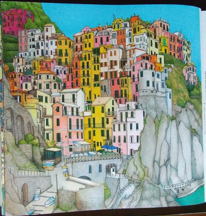 Fantastic Cities Pg16 Manarola La Spezia Italy Stevemcdonald Fantasticcities