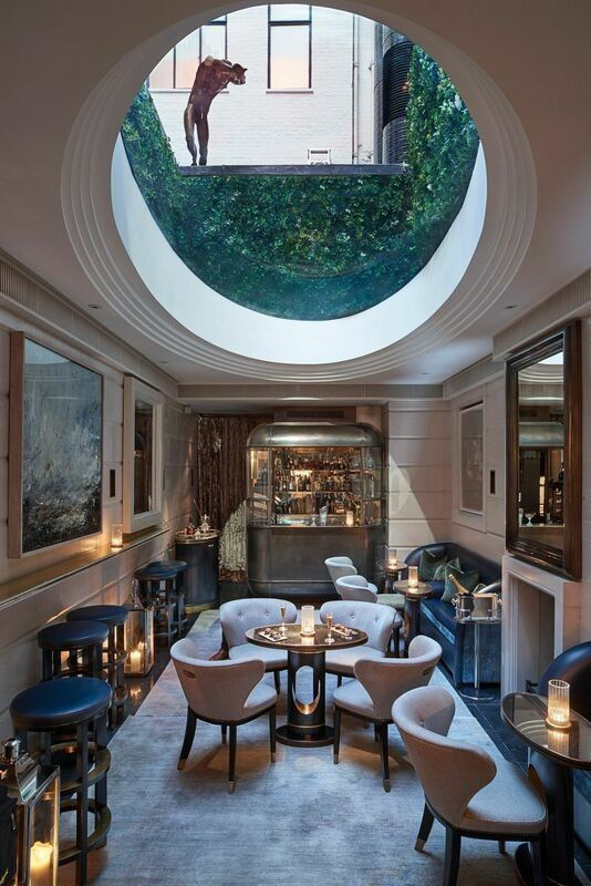 Hotel Rooms Interior Design: The Champagne Room At The Connaught Hotel Is A Triumph