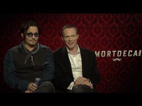 Johnny Depp And Paul Bettany Talk Mortdecai Black Mass Avengers 2 And Johnny Movie Johnny Johnny Depp