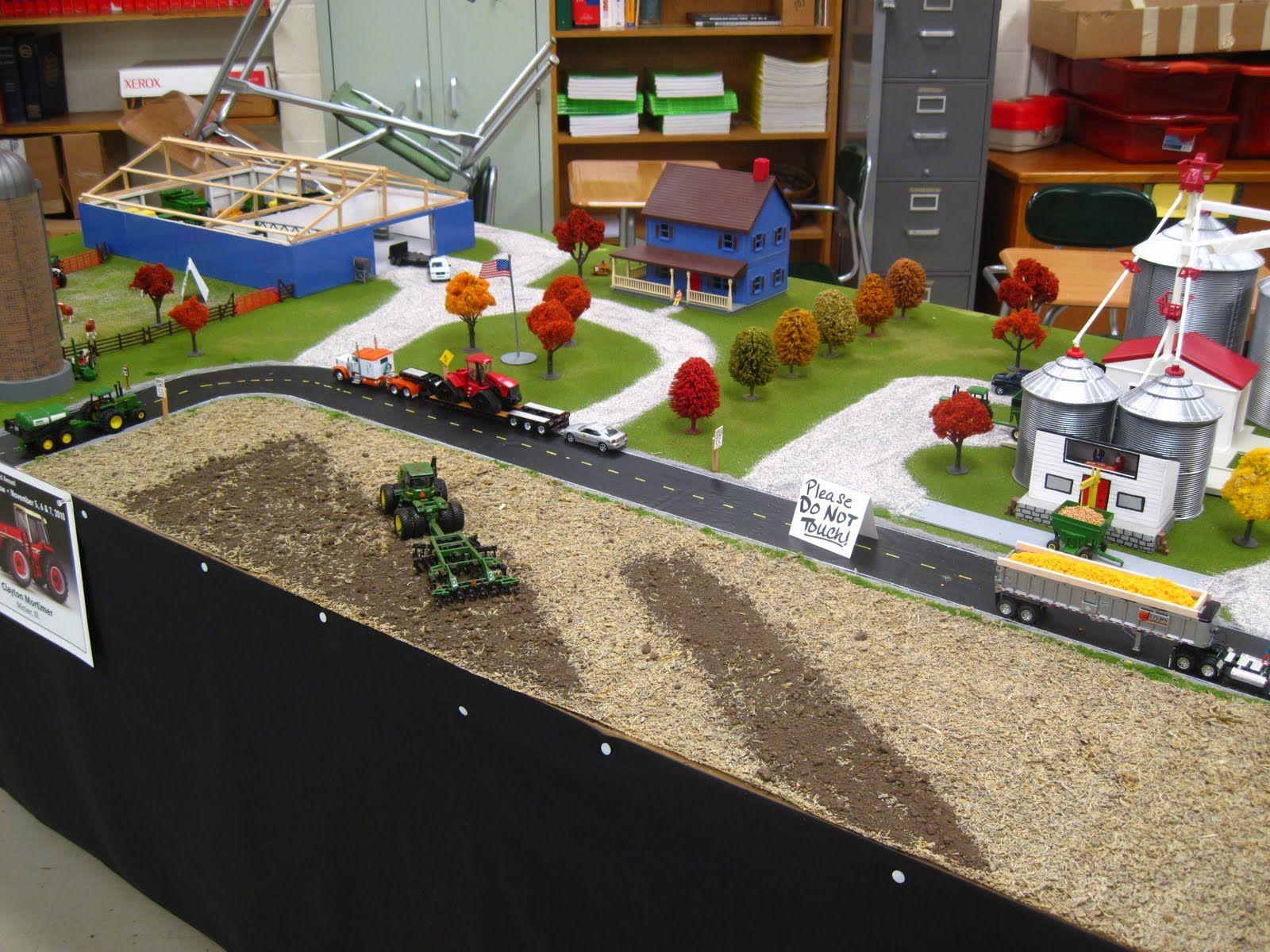 Tractors Ideas Display Toy