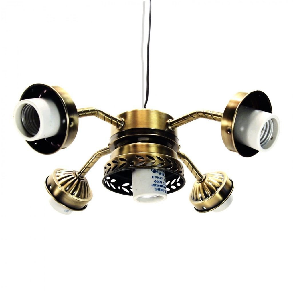 antique brass ceiling fans with light kit | http://ladysro