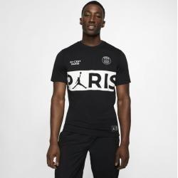 Psg T-Shirt mit Schriftzug - Schwarz NikeNike