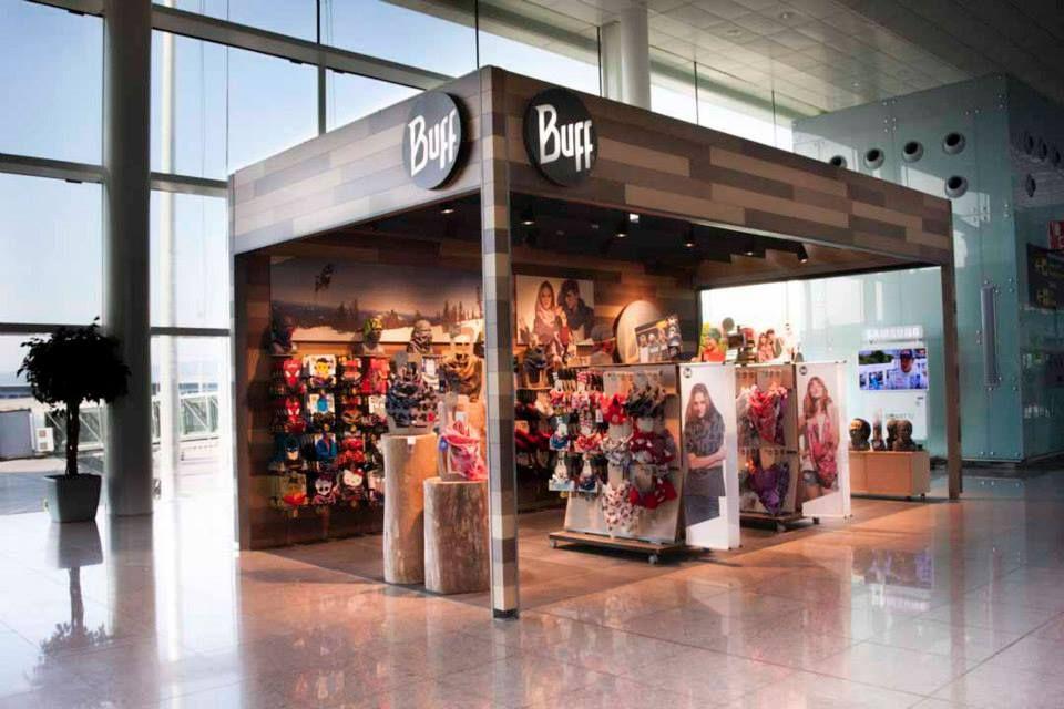 Jarra insulto También  Buff, Inc. Opens Up Shop in the Barcelona Airport | Buff headwear, Buff,  Shopping