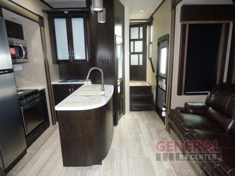 New 2018 Grand Design Momentum M-Class 350M Toy Hauler Fifth