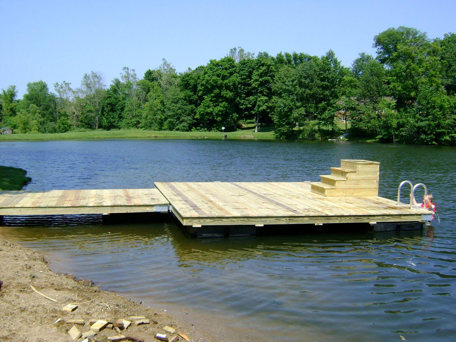 country pond pier - | farm ponds | Pinterest | Pond, Dock ...