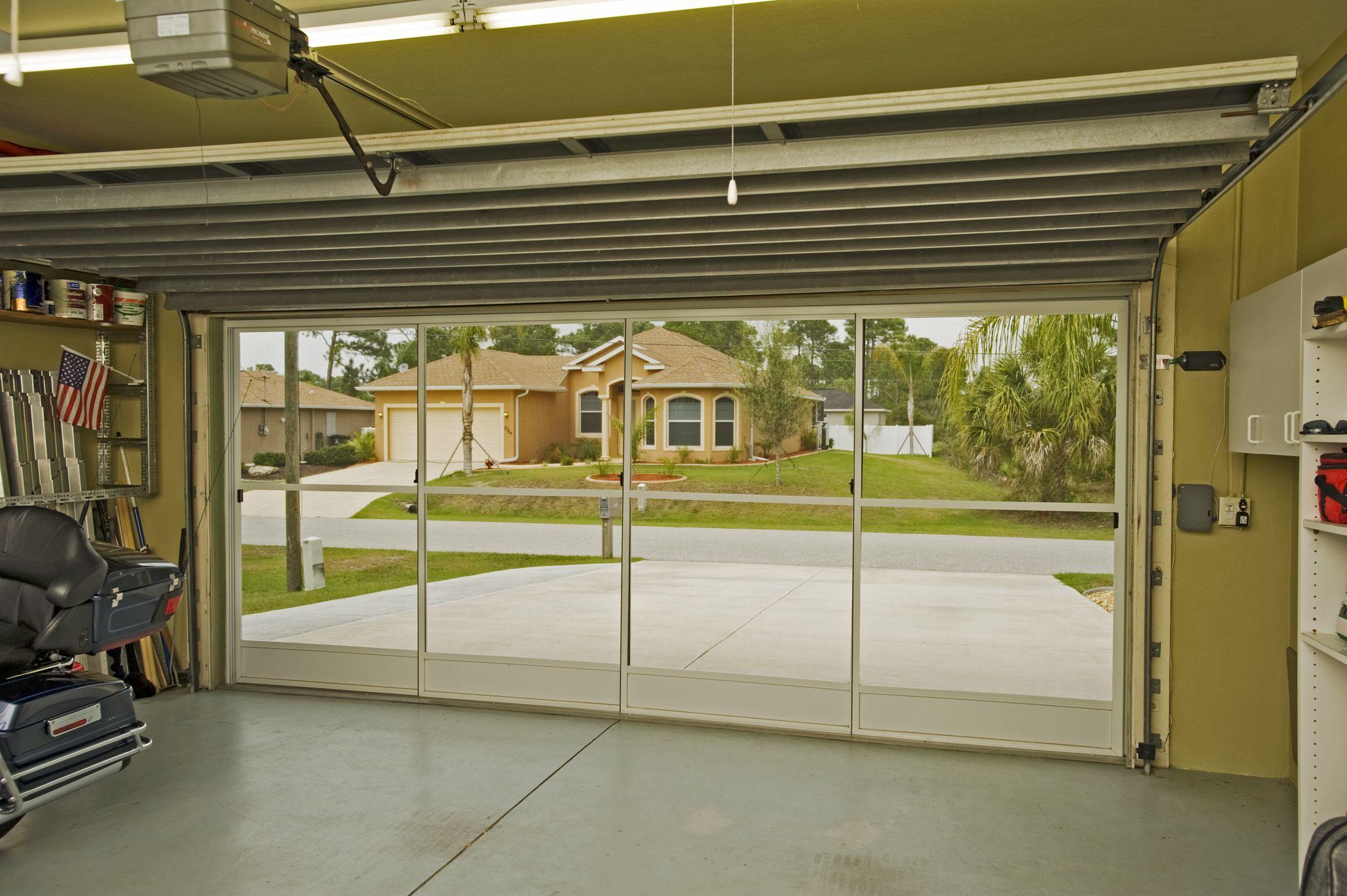 Screens For Garage Doors Kits Garage Screen Doors Sliding