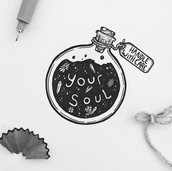 Pin By Gita Pertiwi On Deep Thoughts Cool Easy Drawings Cool Drawings Easy Drawings