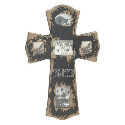 Cole & Grey Wood Cross Picture Frame | Products | Pinterest | Wood ...