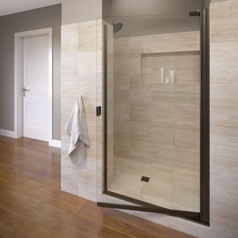 Basco A0063 7cl Shower Doors Framed Shower Door Glass Shower