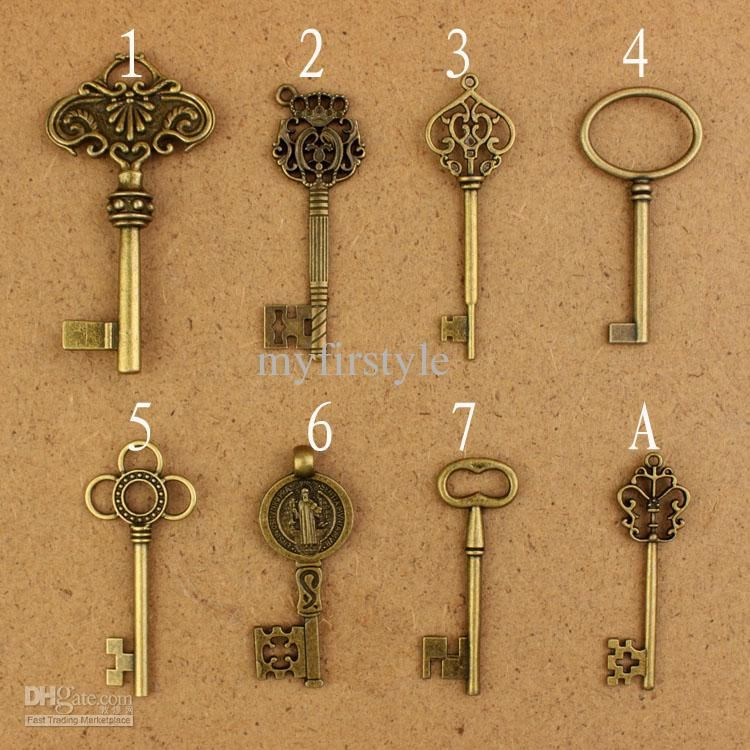 More key charm options diy jewelry necklace vintage key pendant more key charm options diy jewelry necklace vintage key pendantzakka charm pendantantique aloadofball Image collections