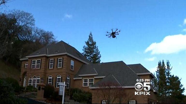Bay Area Realtors Now Using Drones To Market High-EndProperties - CBS San Francisco