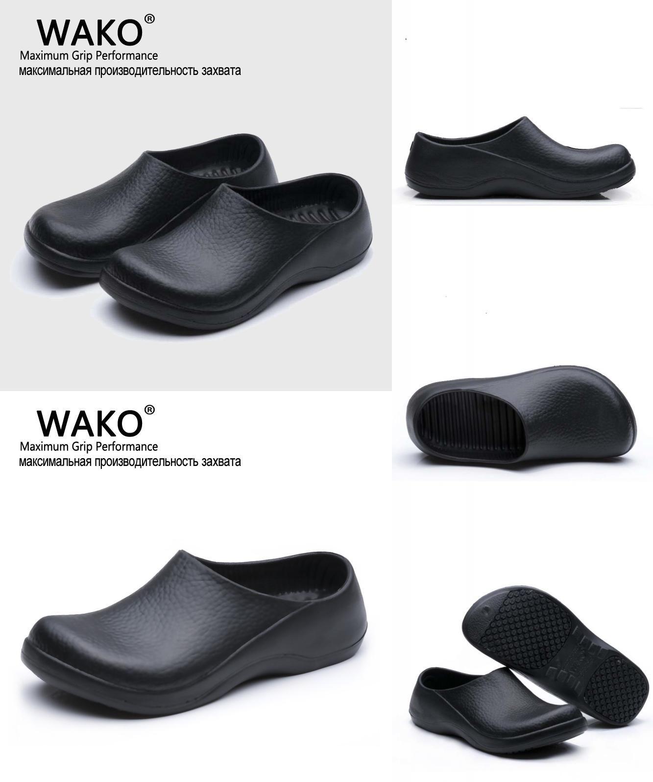 Visit to Buy] WAKO New Men\'s Chef Kitchen Working Slippers Garden ...