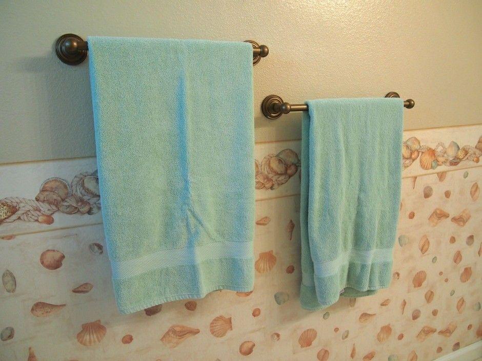 Two Towel Bars Bathrooms Pinterest Bathroom Towel And Bar