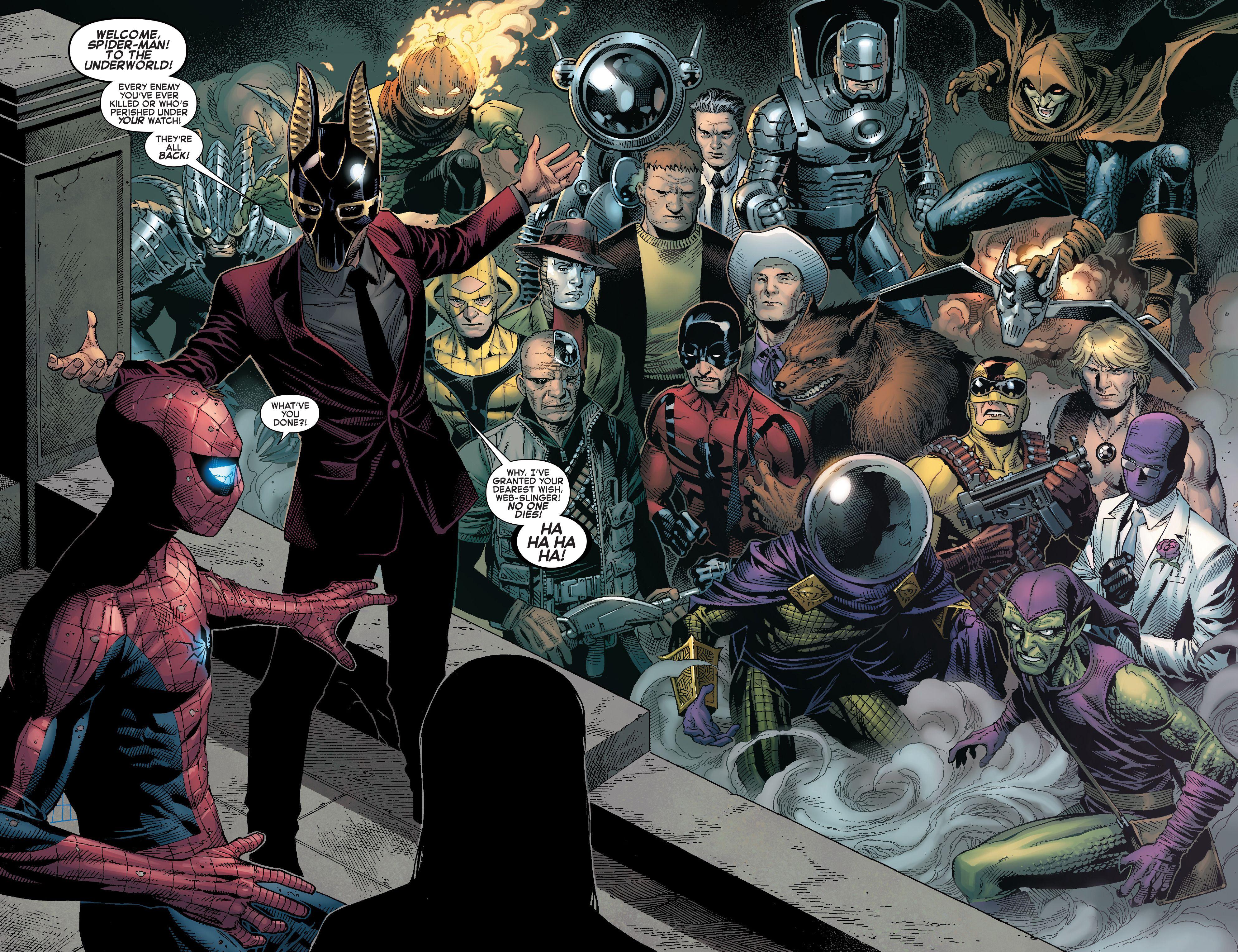 Resultado de imagem para spider man clone conspiracy