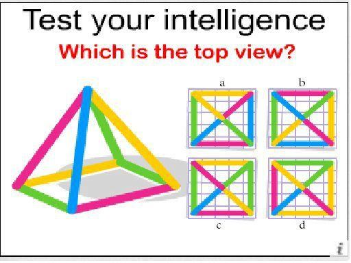 Intelligence Test There Are Number Of Ways Of Testing Your Intelligence On The Internet But This This Is Another Grea Brain Teasers Maths Puzzles Learning Math
