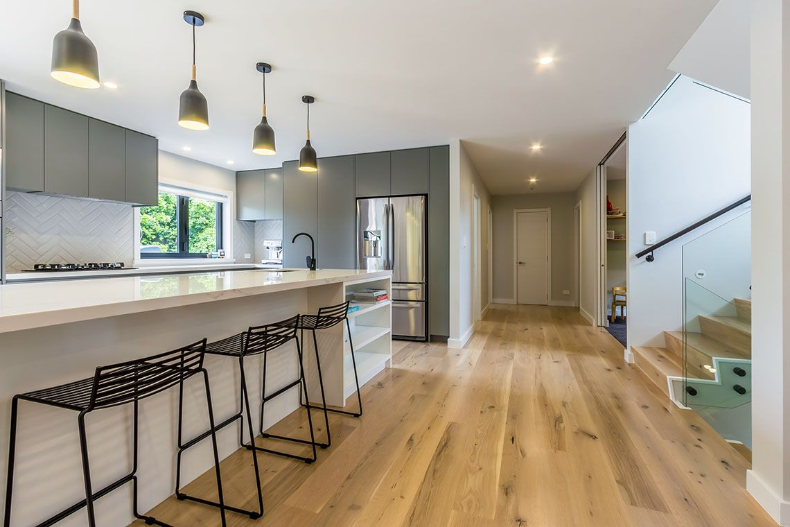 Pin on white kitchen timber flooring