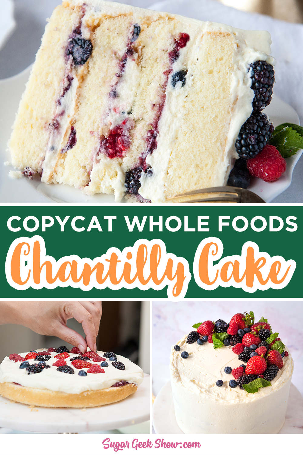 Photo of Berry Chantilly Cake With Mascarpone Frosting | Sugar Geek Show