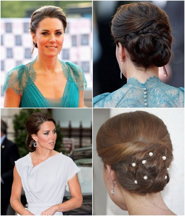 Kate Middleton Hairstyle Updo